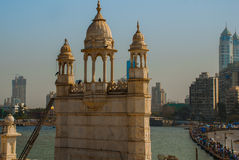 Moské Haji Ali india mumbai Royaltyfri Foto