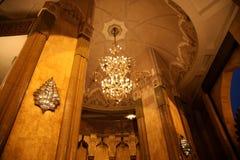 Moské Hassan II royaltyfri bild