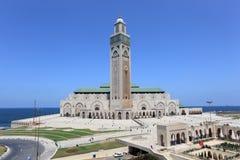 Moské Hassan II i Casablanca Arkivfoto