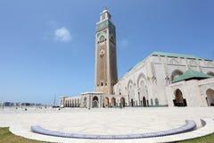 Moské Hassan II i Casablanca Royaltyfria Bilder