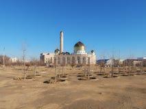 Moské i Aktau Royaltyfri Bild