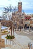 Moské i Amman Arkivfoto