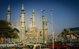 Moské i Bandar Abbas Arkivbild