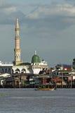 Moské i Bangkok Arkivbild