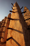 Moské i Bobo Dioulasso, Afrika Arkivfoto
