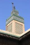 Moské i gamla Medina av Fes, Marocko Arkivfoto