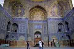 Moské i Iran, Esfahan Fotografering för Bildbyråer