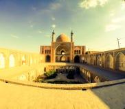Moské i Kashan Iran Royaltyfria Bilder