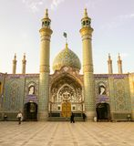 Moské i Kashan i Iran Royaltyfri Foto