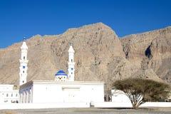 Moské i Khasab Oman Fotografering för Bildbyråer