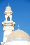 Moské i Khasab Oman Arkivbild