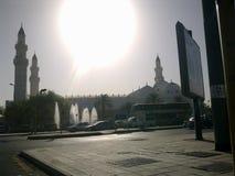 Moské i Medina royaltyfri foto