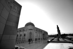 Moské i Muscat royaltyfria foton