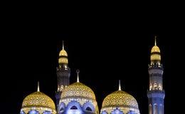 Moské i Muscat Arkivfoto