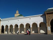 Moské i Rabat royaltyfria foton