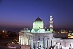 Moské i södra Amman, Jordanien Arkivfoton