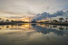Moské i sydliga Thailand Arkivfoton