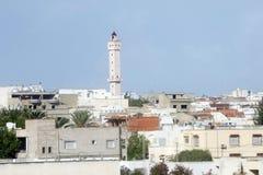 Moské i Tunis royaltyfri fotografi