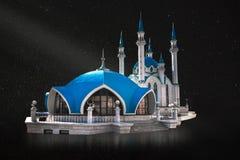 Moské Kul Sharif i den Kazan Kreml, Tatarstan, Ryssland royaltyfria bilder