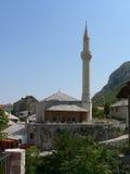 moské mostar Royaltyfri Bild