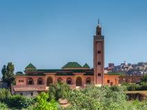 Moské nära Al Harouz Royaltyfri Fotografi