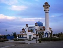 Moské nära Kairo i Egypten royaltyfria bilder