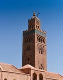 Moské på Marrakesh Royaltyfria Foton