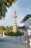 Moské på Meedhoo, Maldiverna Arkivbild