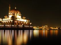 moské putrajaya Royaltyfri Foto