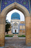 moské samarkand Royaltyfri Foto