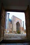 moské samarkand Royaltyfri Bild