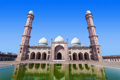 Moské Taj-Ul-Masajid Royaltyfri Fotografi