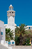 moské tunis arkivbild