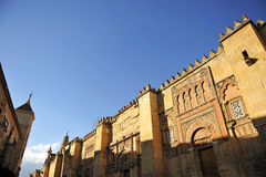 Moskédomkyrka av Cordoba, Andalusia, Spanien Arkivbild