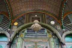 Moskéer i Jammu and Kashmir, Srinagar Royaltyfri Fotografi