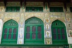 Moskéer i Jammu and Kashmir, Srinagar Royaltyfri Bild