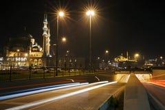 Moskéer på Istanbul Royaltyfri Fotografi