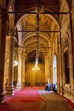 Moskén av muhammad ali i Egypten arkivfoto
