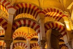 Moskén Catedral av Cordoba royaltyfri foto