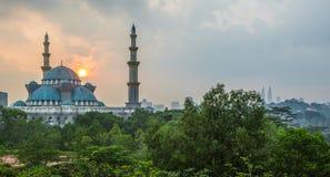 Moskén för federalt territorium, Malaysia dropp royaltyfria bilder