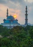 Moskén för federalt territorium, Malaysia V arkivfoto