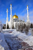 Moskén för NUR ASTANA i Astana/Kasakhstan Royaltyfria Bilder