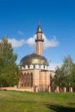 Moskén i den Nizhnekamsk staden (Tatarstan, Ryssland) Fotografering för Bildbyråer