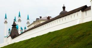 Moskén i Kazan royaltyfria foton