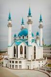 Moskén i staden av Kazan royaltyfri fotografi