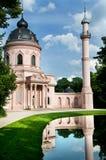 Moskén och minareten Fotografering för Bildbyråer