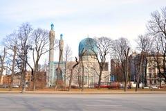 mosképetersburg saint Arkivfoto