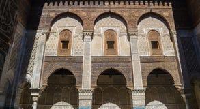 moskéqarawiyyin för al 4 Arkivfoton