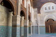 moskéqarawiyyin för al 7 Arkivbild