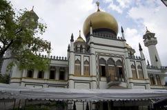 moskésingapore sultan Arkivfoton